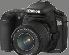 Serwis Canon 20D naprawa Kraków
