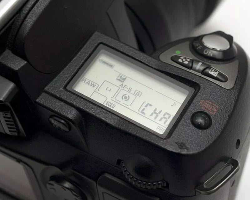 Nikon D70 CHA naprawa serwis Kraków