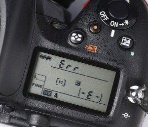 Nikon Err naprawa serwis Kraków